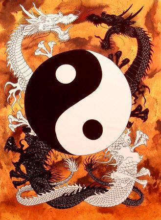 Hei-Zi (le dragon noir) et Bai-Zi (le dragon blanc), après avoir créé le jeu il y'a 4000 ans, s'affrontent depuis sur la même partie
