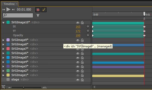 Adobe Edge la Timeline