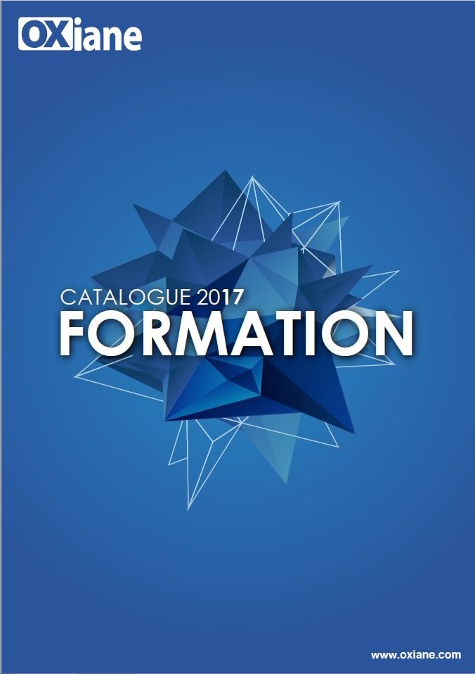 Catalogue de formation OXiane
