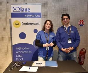 le stand OXiane de la conférence dotCSS 2017