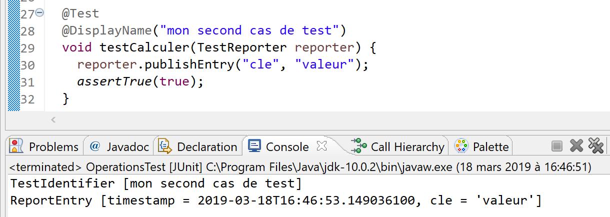 Eclipse Photon - un meilleur support de JUnit 5 et des tests